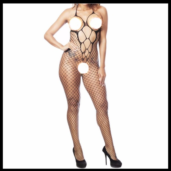 Miss Babydoll Other - ❤️NEW Sexy Fishnet Bodystocking Lingerie #L024